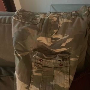 Men's army American Eagle Shorts